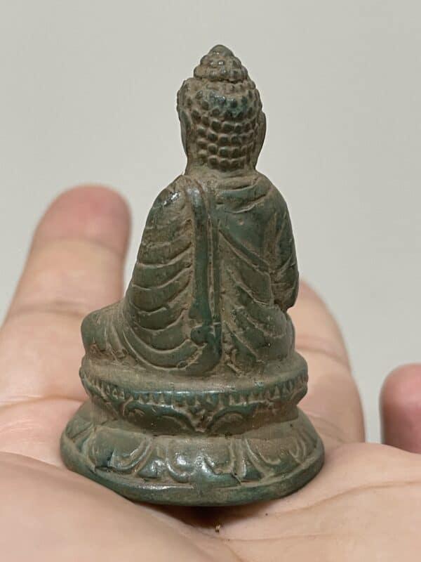Buddha Temple Statue With Jinn Spirit